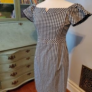 Nanette Lepore Checkerboard Dress